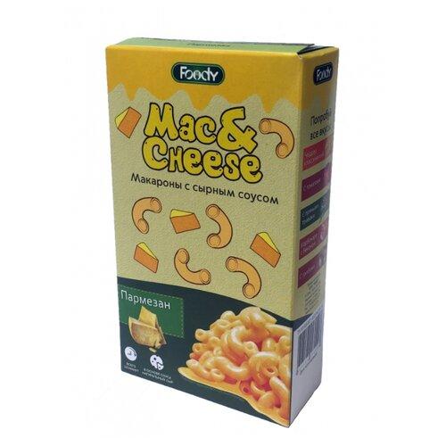 Foody Макароны Mac&Cheese с сырным соусом Пармезан, 143 г
