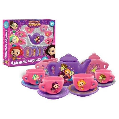 Купить Набор посуды Играем вместе Сказочный патруль CH9715-R1 фиолетовый/розовый, Игрушечная еда и посуда