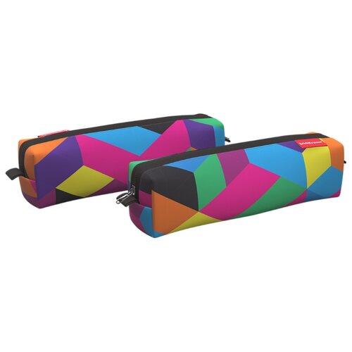 Купить ErichKrause Пенал квадро mini Disco Style (48967) разноцветный, Пеналы
