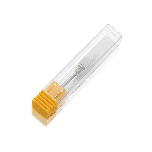 Фото - Фреза для педикюра KrasotkaPro керамическая Кукуруза D=6 мм, желтая (87358), белый irisk фреза керамическая цилиндр оранжевая d 6 мм