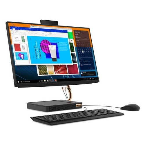 Моноблок Lenovo IdeaCentre AIO A540-24ICB F0EL00DERK Intel Core i3-9100T/4 ГБ/SSD/Intel UHD Graphics 630/23.8/1920x1080/Windows 10 Home 64 моноблок lenovo aio v530 24icb 10uw00gdru intel core i3 9100t 4 гб ssd intel uhd graphics 630 23 8 1920x1080 dvd rw dos