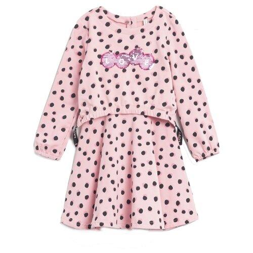 Платье COCCODRILLO размер 104, розовый цена 2017