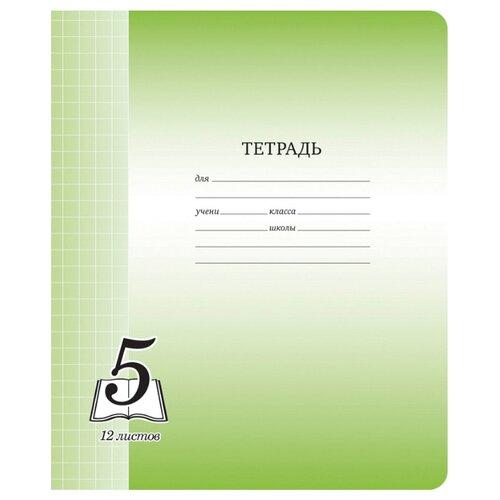 Купить ArtSpace Упаковка тетрадей Пятерка Тф12кк_6270, 20шт, крупная клетка, 12 л., Тетради