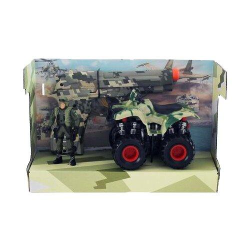 Купить Квадроцикл Yako Армия и флот (M0055-8) камуфляж, Машинки и техника