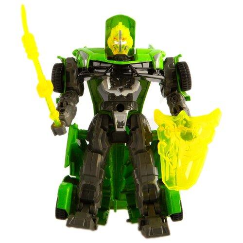Купить Трансформер Play Smart Герой перевоплощения зеленый/серый, Роботы и трансформеры