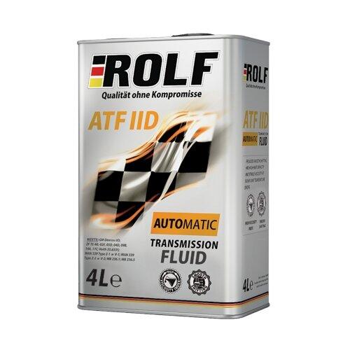 Трансмиссионное масло ROLF ATF IID 4 л куртка утепленная rolf kassel rolf kassel mp002xm23zi4