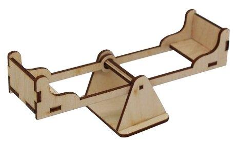 Astra & Craft Деревянная заготовка для декорирования качели средние L-715