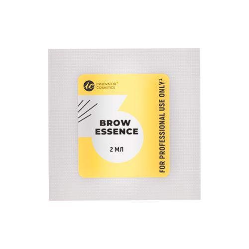 Innovator Cosmetics Состав #3 для долговременной укладки бровей Brow Essence (саше) innovator cosmetics состав 1 для долговременной укладки бровей brow lift