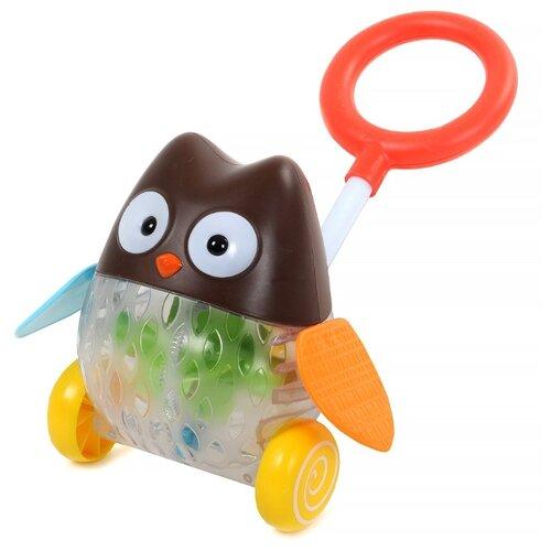 цена на Каталка-игрушка Yako Совенок (M7338) коричневый