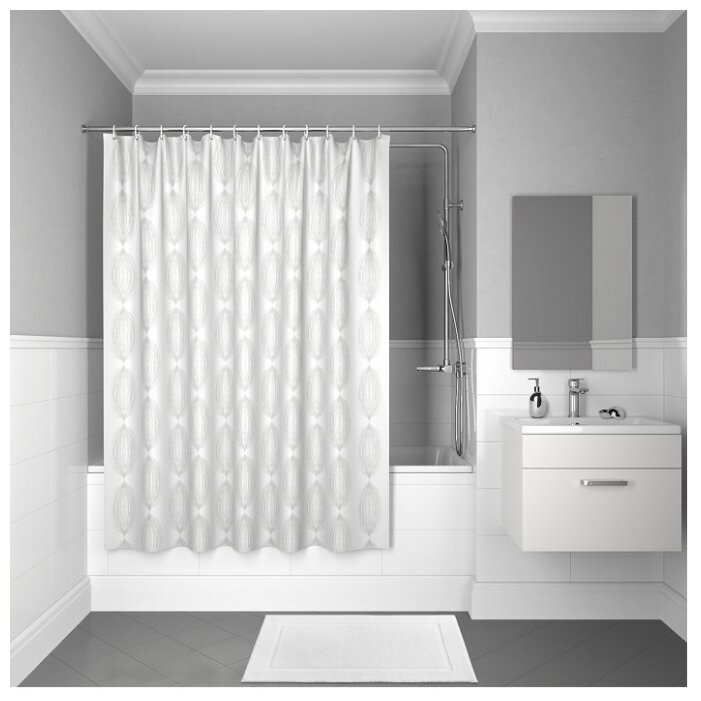 Штора для ванной IDDIS Decor D15P218i11 200х180
