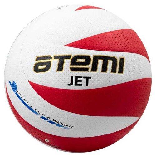 Волейбольный мяч ATEMI Jet белый/красный