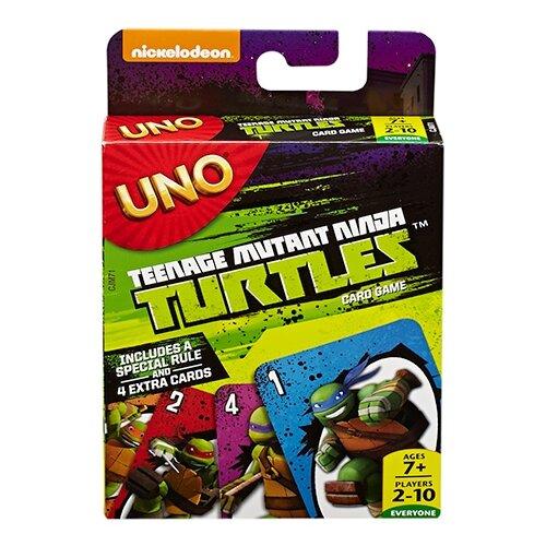 Фото - Настольная игра Mattel Uno Черепашки-ниндзя CJM71 настольная игра уно дисплей uno