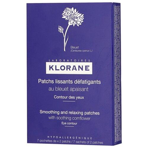 Klorane Успокаивающая маска-компресс для контура глаз 7х2 мл где купить шампунь klorane