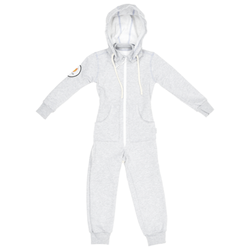 Комбинезон Bambinizon ТКМД-2-СМ, размер 110, серый меланж