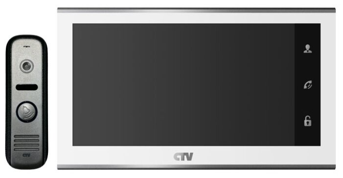 CTV-DP2702MD Комплект видеодомофона (Белый)