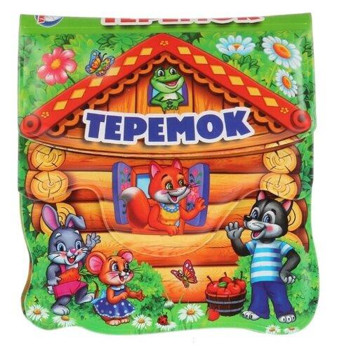 Фото - Игрушка для ванной Умка Теремок коричневый/зеленый развивающая пирамидка теремок умка