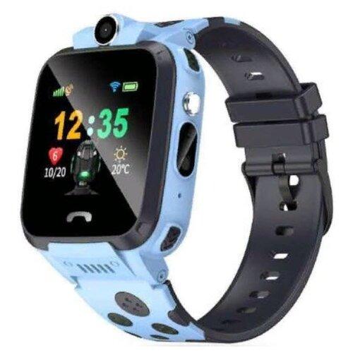 Детские умные часы c GPS Smart Baby Watch V95W голубой детские умные часы c gps smart baby watch kt03 голубой синий