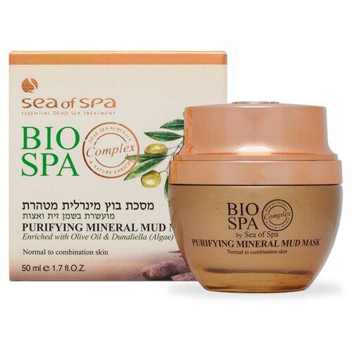 цена на Sea of Spa Грязевая маска BIO SPA с оливковым маслом и водорослью дуналиелла, 50 мл