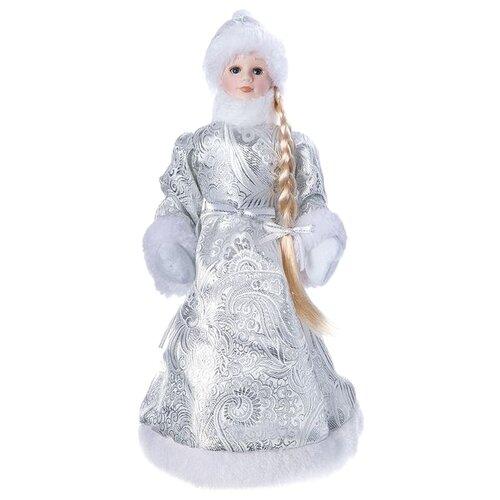 Фигурка SNOWMEN Снегурочка 36 см (Е96413) серебристый фигурка snowmen мышка 62 см