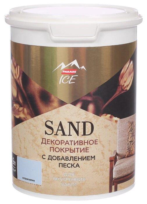 Декоративное покрытие Parade Ice Sand с добавлением песка