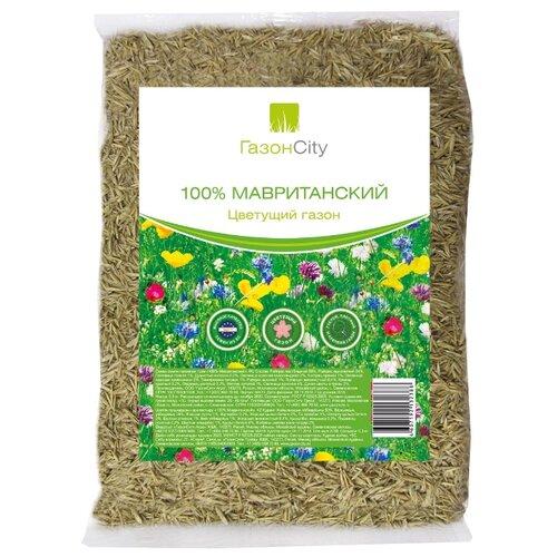 Смесь семян ГазонCity 100% Мавританский цветущий газон, 0.3 кг