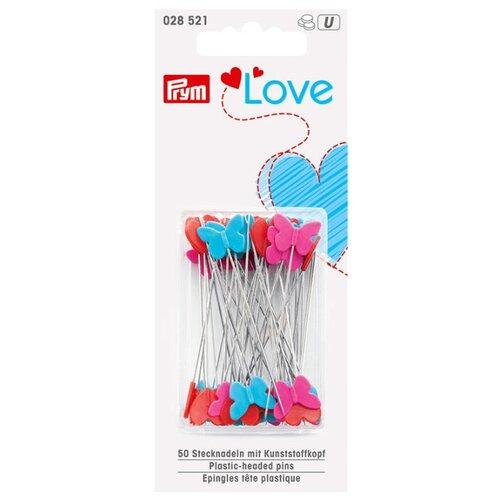 Фото - Набор булавок Prym 028521 с фигурными, пластиковыми головками 0,60 x 50 мм, серебристый/розовый яркий/красный/синий светлый полесье набор игрушек для песочницы 468 цвет в ассортименте
