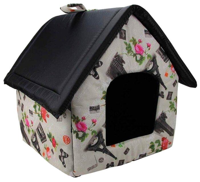 Предметы содержания и ухода Догман будка для кошек и собак средняя (микс), 600 г.