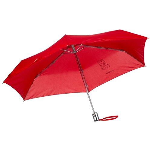 цена Зонт автомат Samsonite Karissa Umbrellas (6 спиц, большая ручка) красный онлайн в 2017 году