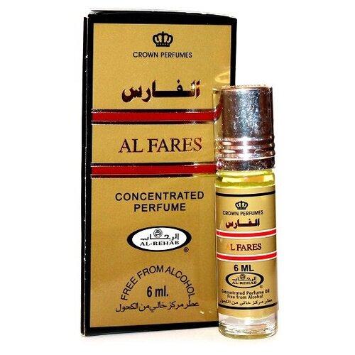 Масляные духи Al Rehab Al Fares, 6 мл al rehab full масляные духи 6мл