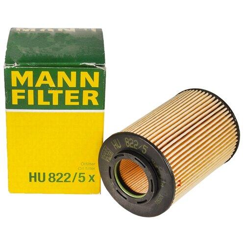 Фильтрующий элемент MANNFILTER HU822/5X