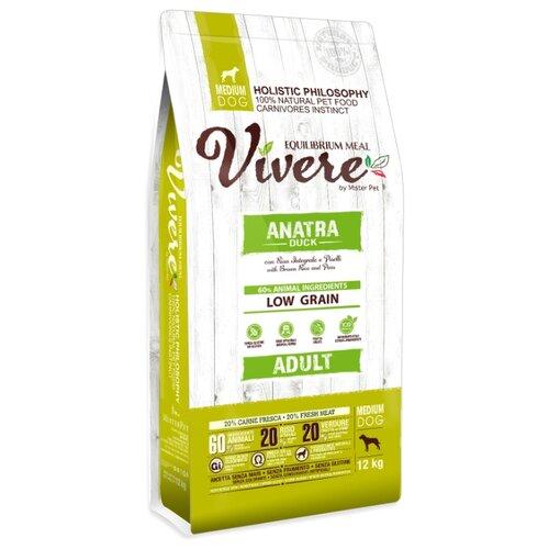 Сухой корм для собак Vivere утка 12 кг (для средних пород)
