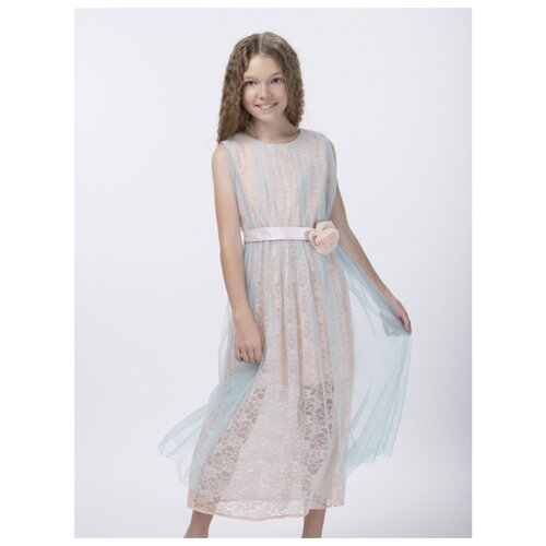 Купить Платье Смена размер 128/64, бирюзовый, Платья и сарафаны