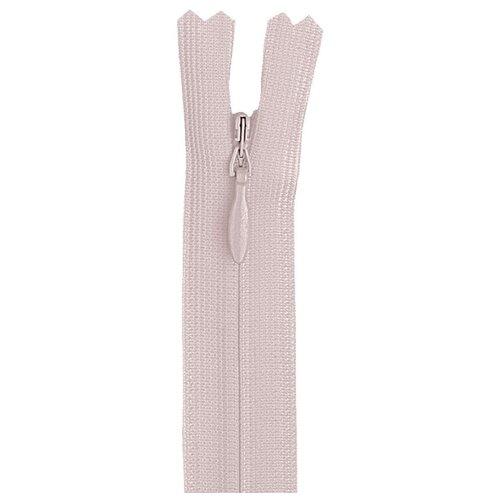 Купить YKK Молния потайная неразъемная 0004715/60, 60 см, 511 светло-розовый/светло-розовый, Молнии и замки