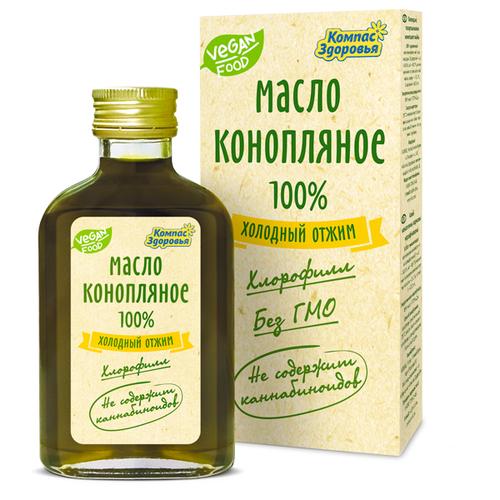 Компас Здоровья Масло конопляное 0.1 л.