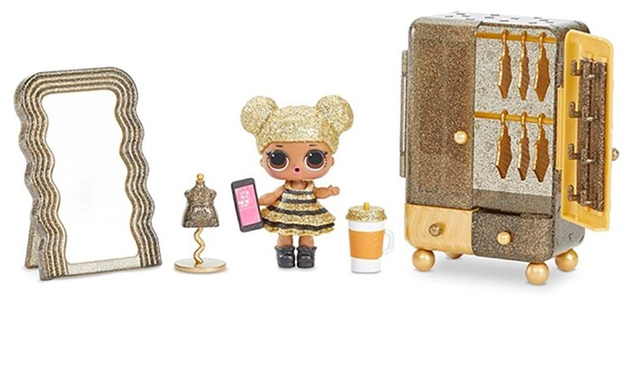 MGA Entertainment Набор мебели с куклой Queen Bee L.O.L. Surprise! ЛОЛ - Салон красоты LOL Furniture Beauty Salon, 564119