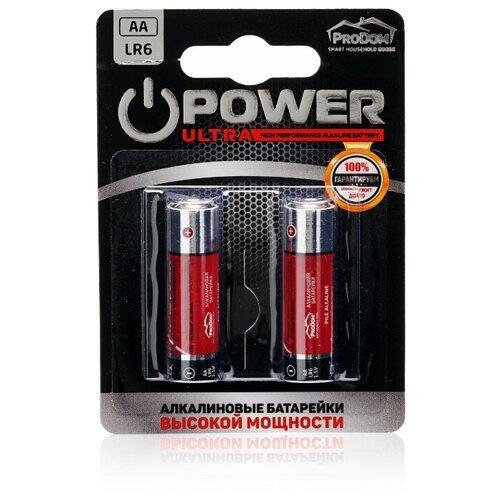 Фото - Батарейка ProDom Power Ultra AA/LR6 2 шт блистер pure прокладки гигиенические женские dry ultra 28 см 10 шт