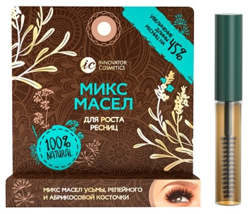 Купить Innovator Cosmetics Микс масел для роста ресниц бесцветный по низкой цене с доставкой из Яндекс.Маркета (бывший Беру)