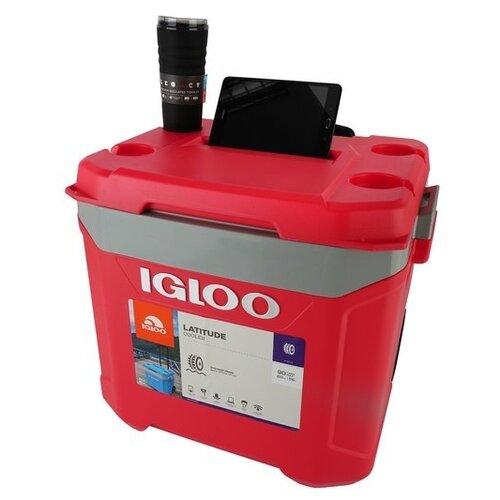 Термоэлектрический автохолодильник Igloo Latitude 60 Roller red