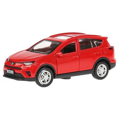 Купить Легковой автомобиль ТЕХНОПАРК Toyota RAV4 12 см красный, Машинки и техника