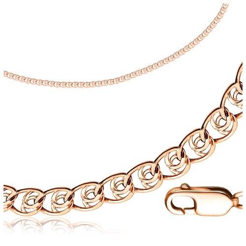 Бронницкий Ювелир Цепь из красного золота R00601901, 60 см, 4.84 г браслет пустотелый из золота r00601901