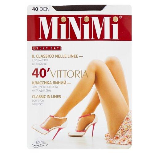 Колготки MiNiMi Vittoria 40 den, размер 5-XL, fumo (серый) колготки minimi vittoria 20 den размер 5 xl cappuccino коричневый