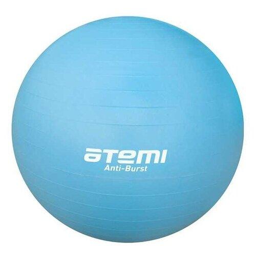 Фитбол ATEMI AGB-01-65, 65 см голубой фитбол atemi agb 01 55 55 см салатовый