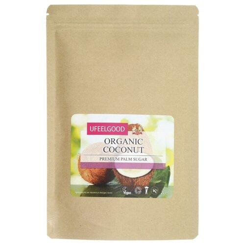 Сахар UFEELGOOD Organic Coconut пальмовый нерафинированный 0.2 кг