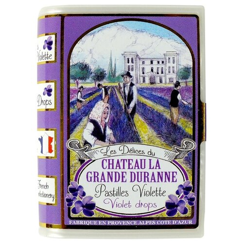 Леденцы SiC Delices Du Chateau La Grande Duranne со вкусом фиалки 35 г цена 2017