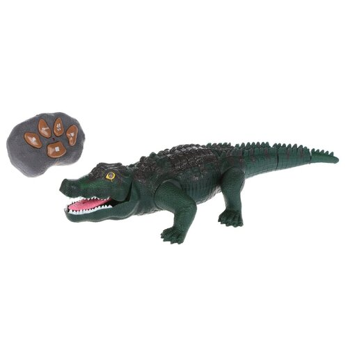Робот Hong Ze Крокодил F139 зеленый, Роботы и трансформеры  - купить со скидкой