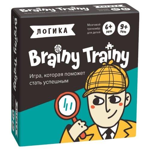 Купить Настольная игра Brainy Trainy Логика, Настольные игры