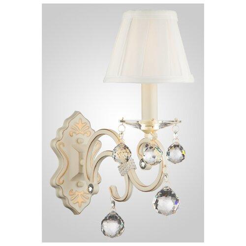 Настенный светильник Eurosvet Ivin 12075/1 белый, 40 Вт светильник настенный eurosvet screw 40136 1 6w белый