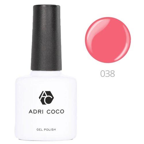 Гель-лак для ногтей ADRICOCO Gel Polish, 8 мл, оттенок 038 розовый коралл