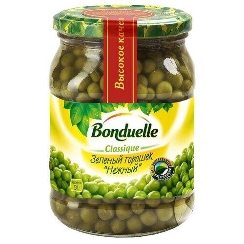 Зеленый горошек Bonduelle Classique Нежный, стеклянная банка 530 г зеленый горошек bonduelle classique нежный стеклянная банка 530 г