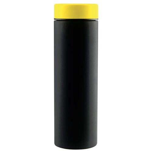 Классический термос asobu Le baton travel (0,5 л) черный/желтый